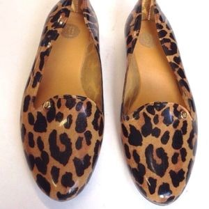 b10e8479023 Melissa Shoes - MELISSA VIRTUE LEOPARD PRINT JELLY LOAFERS animal